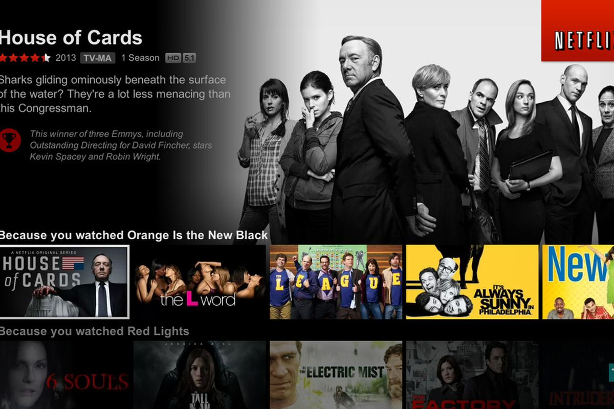It is found that its users would stream movies, series late at night, or in the room with dimmed light. Image: Netflix.